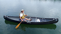 Courtesy photo<br /> To paddle solo efficiently in a tandem canoe, turn the canoe around so the bow is now the stern. Sit in what was formerly the bow seat to be more in the center of the canoe.