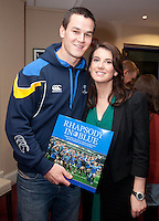 Kiera Doyle and Johnny Sexton