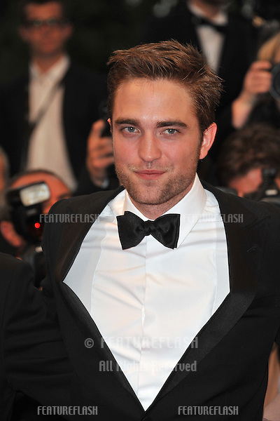"Robert Pattinson at the gala screening of his new movie ""Cosmopolis"" in competition at the 65th Festival de Cannes..May 25, 2012  Cannes, France.Picture: Paul Smith / Featureflash"