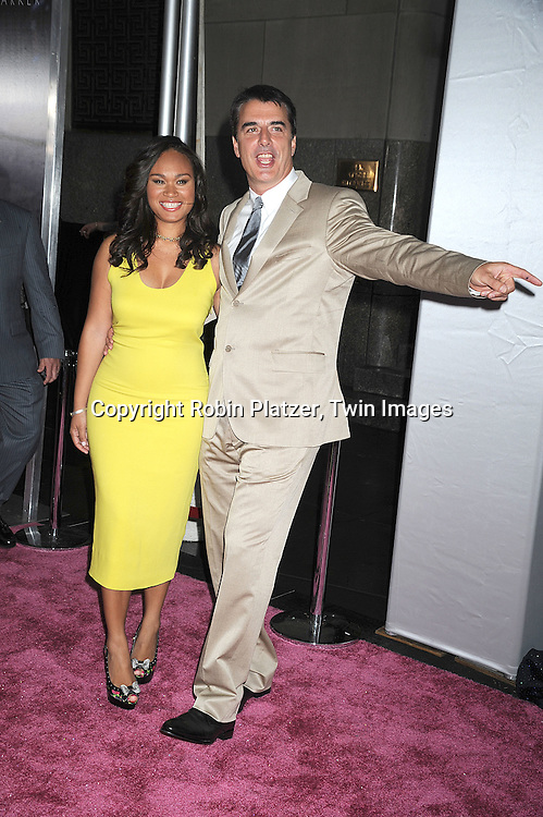 8ea95394eae9d Chris Noth and Tara Wilson..posing for photographers at The New York  Premiere of