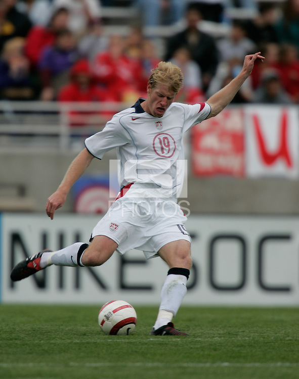 Nat Borchers, Honduras vs USA, March 19, 2005.