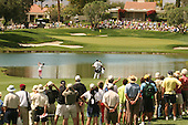 Apr. 1, 2006; Rancho Mirage, CA, USA; Lorena Ochoa hits her approach shot on the 5th hole at the Kraft Nabisco Championships at Mission Hills Country Club. ..Mandatory Photo Credit: Darrell Miho.Copyright © 2006 Darrell Miho .