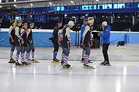 SCHAATSEN: HEERENVEEN: 15-09-2017, IJSSTADION THIALF, Topsporttraining, ©foto Martin de Jong