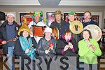 BIDDIES: The Lixnaw Biddies who played a fine tune as they showed up at the Stretford Inn, Causeway on Saturday night to raise funds. Front l-r: Ann Ronan, Ann Kelliher, Crena Daughton and Carmel O'Neill. Back l-r: James Conway, Pat O'Connell, Patrick O'Sullivan, Paddy Quilter and Willie Allen.