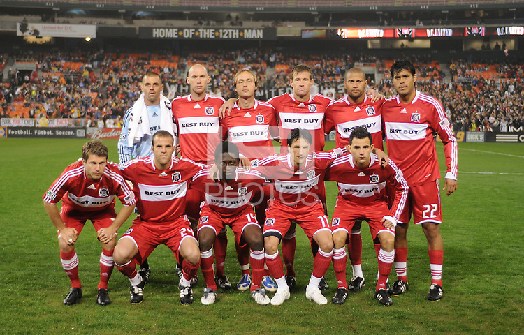 Chicago Fire Starting Eleven. Chicago Fire tied DC United 1-1 at RFK Stadium, Saturday March 28, 2009.