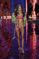 Alessandra Ambrosio on the runway at the Victoria's Secret Fashion Show 2014 London held at Earl's Court, London. 02/12/2014 Picture by: James Smith / Featureflash