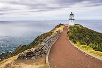Cape Reinga Lighthouse (Te Rerenga Wairua Lighthouse), Aupouri Peninsula, Northland, New Zealand