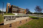 TORRINGTON, CT-062217JS13- The new Litchfield Judicial District Courthouse in Torrington. <br /> Jim Shannon Republican-American