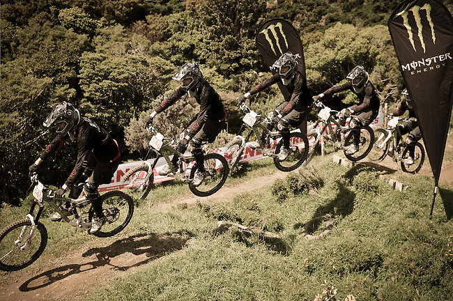2010 Wellington Downhill Series<br /> Finals at Long Gully Station