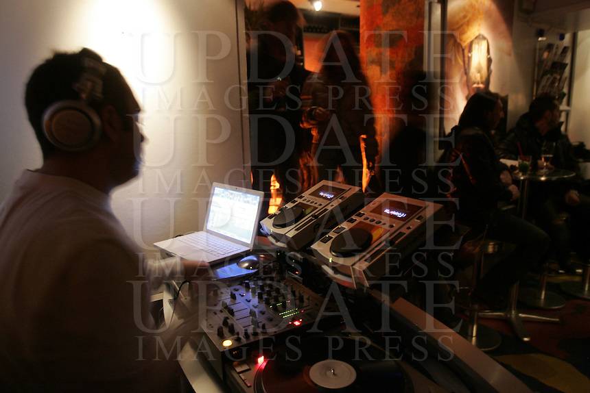 Il locale notturno Dolce Vita a Firenze<br /> Nightlife Dolce Vita in Florence.<br /> UPDATE IMAGES PRESS/Riccardo De Luca