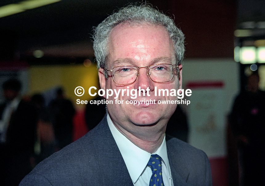 Chris Smith, MP, Labour Party, UK, October 1997, 199710075<br />
