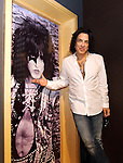 "SIOUX FALLS, SD - JULY 20: KISS member Paul Stanley poses for a photograph next to the ""Star Child"" rehearsal room at the Brennan Rock & Roll Academy Saturday afternoon in Sioux Falls.  (Photo by Dave Eggen/Inertia)"