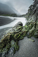 Smoothwater River near Jackson Bay, South Westland, World Heritage Area, New Zealand