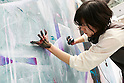 The 43rd Design Festa, the single largest art festival in Asia, kicks off in Tokyo on Saturday, May 14, 2016, Tokyo, Japan. Over 12,000 artists exhibit, buy, and sell their work during the biannual event which is considered to be Asia's single largest art and performance festival. Over 60,000 visitors are anticipated at the event held on May 14 and 15 at Tokyo Big Sight. (Photo by Rodrigo Reyes Marin/AFLO)