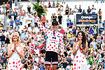 Warren Barguil (FRA) Team Sunweb retains the Polka Dot Jersey on the podium at the end of Stage 20 of the 104th edition of the Tour de France 2017, an individual time trial running 22.5km from Marseille to Marseille, France. 22nd July 2017.<br /> Picture: ASO/Alex Broadway | Cyclefile<br /> <br /> <br /> All photos usage must carry mandatory copyright credit (&copy; Cyclefile | ASO/Alex Broadway)