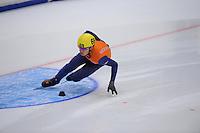 SHORTTRACK: HEERENVEEN: Thialf, Invitation Cup, 01-021011, Sjinkie Knegt (69), ©foto: Martin de Jong