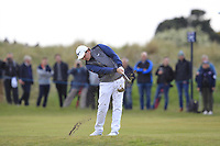Eddie Pepperell (ENG) on the 3rd fairway during Round 2 of the Betfred British Masters 2019 at Hillside Golf Club, Southport, Lancashire, England. 10/05/19<br /> <br /> Picture: Thos Caffrey / Golffile<br /> <br /> All photos usage must carry mandatory copyright credit (&copy; Golffile | Thos Caffrey)