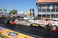 17-19 February 2012, Chandler, Arizona, USA, Khalid Albalooshi, Al-Anabi Racing, top fuel dragster @2012, Mark J. Rebilas