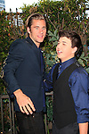 LOS ANGELES - APR 27: Luke Benward, Bradley Steven Perry at Ryan Newman's Glitz and Glam Sweet 16 birthday party at the Emerson Theater on April 27, 2014 in Los Angeles, California