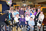 Geraldine Casey from Cahersiveen seated front second from left celebrated her 50th birthday with family and friends at the Ring of Kerry Hotel on Saturday night last.