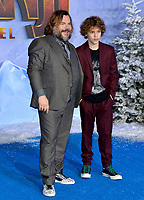 """LOS ANGELES, USA. December 10, 2019: Jack Black & Samuel Jason Black at the world premiere of """"Jumanji: The Next Level"""" at the TCL Chinese Theatre.<br /> Picture: Paul Smith/Featureflash"""