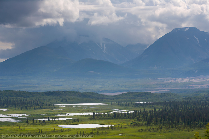 Valley of Ten Thousand Smokes, Katmai National Park, Alaska
