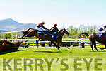 Right Destination and Sticky Situation chase Hammerstein during the Killarney Towers Hotel Maiden Hurdle for trainer Gordon Elliot at Killarney Races on Sunday
