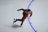 SPEEDSKATING: CALGARY: 14-11-2015, Olympic Oval, ISU World Cup, 1000m B-division, Sverre Lunde Pedersen (NOR), ©foto Martin de Jong