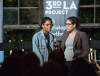 Melissa Donaldson '15, left, and Ella Fornari '16. <br />