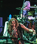 Aerosmith performing at The Boston Garden, July 17 2012.