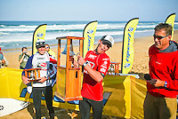 Andy Irons (HAW) won the 2003 Rip Curl Pro Bells Beach Victoria defeating Joel Parkinson (AUS) in the final. The contest had to be moved to Johanna Beach, south west of Bells because of the lack of surf at the famous break  Photo: joliphotos.com.