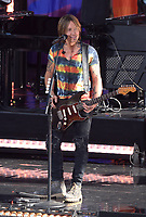 NEW YORK, NY - AUGUST 9: Keith Urban Performs on ABC's Good Morning America Summer Concert Series in New York City on August 9, 2019. <br /> CAP/MPI/JP<br /> ©JP/MPI/Capital Pictures