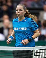 12-02-14, Netherlands,Rotterdam,Ahoy, ABNAMROWTT,Ballgirl<br /> Photo:Tennisimages/Henk Koster