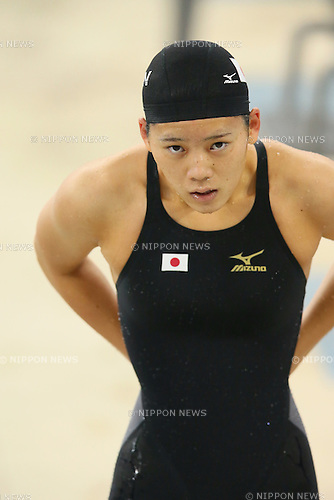 Miki Uchida (JPN), <br /> SEPTEMBER 26, 2014 - Swimming : <br /> Women's 50m Freestyle Heat <br /> at Munhak Park Tae-hwan Aquatics Center <br /> during the 2014 Incheon Asian Games in Incheon, South Korea. <br /> (Photo by YUTAKA/AFLO SPORT)