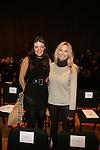 Nicole Noonan and Lisa Rowland-Front Row-Mercedes Benz Fashion Week Douglas Hannant Fall 2013, NY 2/13/13