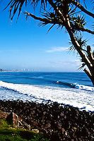 BURLEIGH HEADS line up. Queensland Australia.Photo: Joli