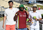 9th December 2017, Seddon Park, Hamilton, New Zealand; International Test Cricket, 2nd Test, Day 1, New Zealand versus West Indies;  Fans and supporters