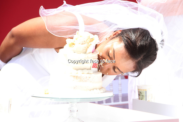 NEW YORK, NY - MAY 30: Contestant at WE tv's 10th Anniversary and Final Season of Bridezillas with Cake Eating Competition at the plaza at Madison Square Garden in New York City. May 30, 2013. Credit: RW/MediaPunch Inc.<br /> Credit: MediaPunch/face to face<br /> - Germany, Austria, Switzerland, Eastern Europe, Australia, UK, USA, Taiwan, Singapore, China, Malaysia, Thailand, Sweden, Estonia, Latvia and Lithuania rights only -