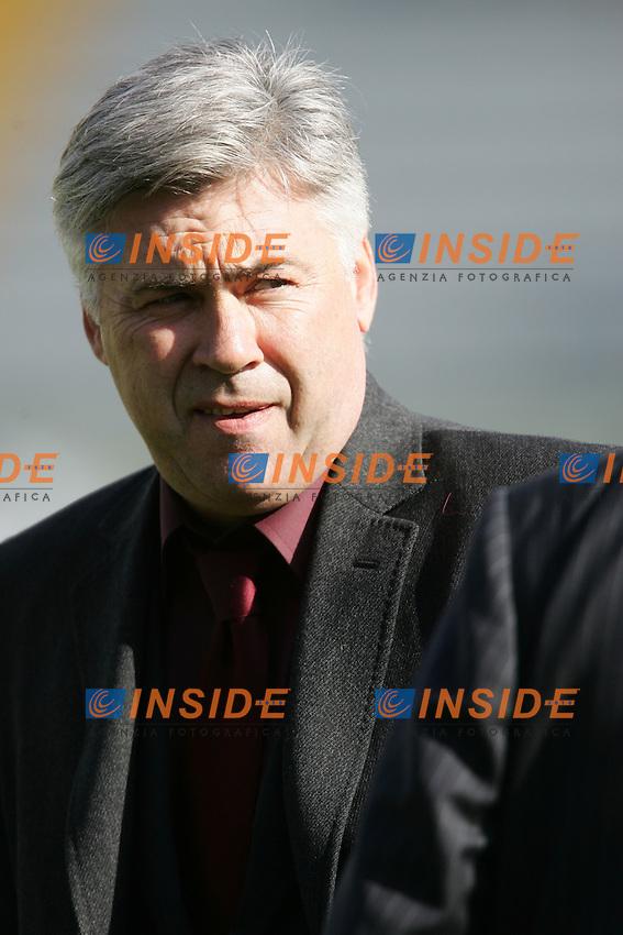 L'allenatore del Milan Carlo Ancelotti<br /> Carlo Ancelotti (Milan) trainer<br /> Italian &quot;Serie A&quot; 2006-07<br /> 17 Feb 2007 (Match Day 24)<br /> Siena-Milan (3-4)<br /> &quot;Artemio Franchi&quot;-Stadium-Siena-Italy<br /> Photographer: Andrea Staccioli INSIDE