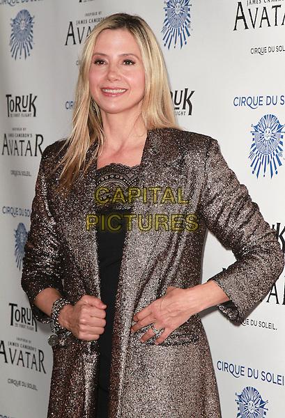 11 November 2016 - Los Angeles, California - Mira Sorvino. Cirque du Soleil &quot;Toruk - The First Flight&quot; Opening Night held at Staples Center. <br /> CAP/ADM/PMA<br /> &copy;PMA/ADM/Capital Pictures