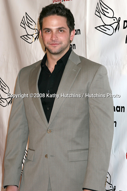 Brandon Barash arriving at the Desi Geestman Foundataion Annual Evening with the Stars at the Universal Sheraton Hotel in Los Angeles, CA.October 11, 2008.©2008 Kathy Hutchins / Hutchins Photo...                .