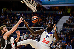 Real Madrid's Othello Hunter during Turkish Airlines Euroleague between Real Madrid and Brose Bamberg at Wizink Center in Madrid, Spain. December 20, 2016. (ALTERPHOTOS/BorjaB.Hojas)