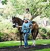 Silent Indian before The Christiana Stakes at Delaware Park 9/15/12