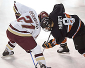 Benn Ferreiro, Will Harvey - Boston College defeated Princeton University 5-1 on Saturday, December 31, 2005 at Magness Arena in Denver, Colorado to win the Denver Cup.  It was the first meeting between the two teams since the Hockey East conference began play.