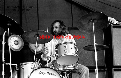The Nice 1969 Brian Davison at Bath Festival<br /> © Chris Walter