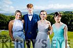 Maeve Buckley, Jack Grace, Erin Lauder and Hannah Grace, enjoying Causeway Comprehensive School Deb, at Ballyroe Heights Hotel, Tralee, on Wednesday, August 9th last.