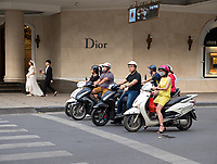The Bride and Groom: People and everyday life in the streets of Hanoi, Vietnam
