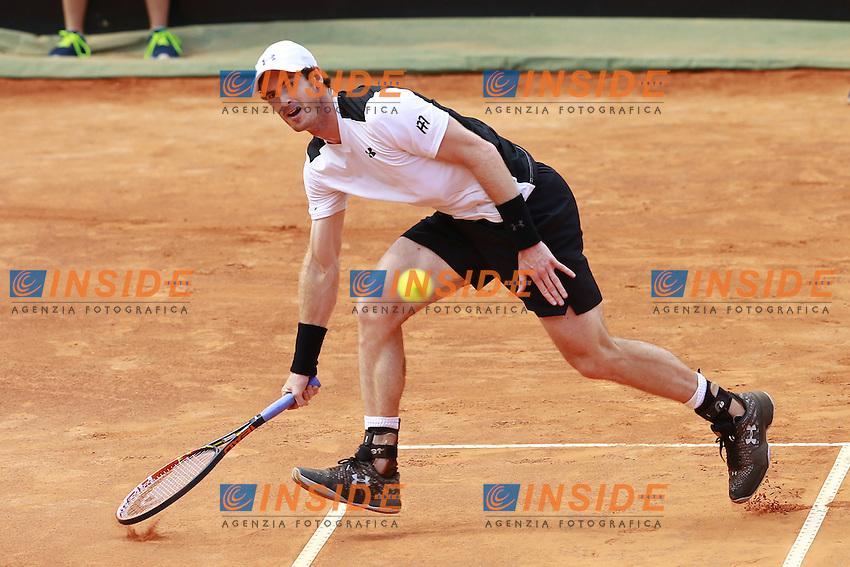 Andy Murray (GBR) <br /> Roma 13-05-2016 Foro Italico <br /> Internazionali BNL d'Italia,<br /> Tennis ATP <br /> Foto Cesare Purini / Insidefoto
