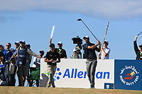 Nicolas Colsaerts (BEL) on the 17th tee during Round 2 of the Dubai Duty Free Irish Open at Ballyliffin Golf Club, Donegal on Friday 6th July 2018.<br /> Picture:  Thos Caffrey / Golffile