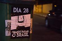 SÃO PAULO, SP, 28.04.2017- GREVE-SP - Terminal Intermunicipal do Jabaquara na Zona Sul de São Paulo (SP), na manha desta sexta-feira(28) . (Foto: Danilo Fernandes/Brazil Photo Press)